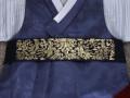 고급금박허리띠,금박허리띠,한복소품