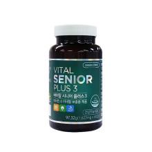 그린스토어 바이탈 시니어 플러스3, 중장년층 이상을 위한 프리미엄 종합비타민