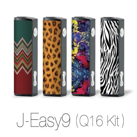 J-Easy9 Justfog (Q16 kit) 저스트포그 Q16 스티커형 스킨 (벌크 포장)