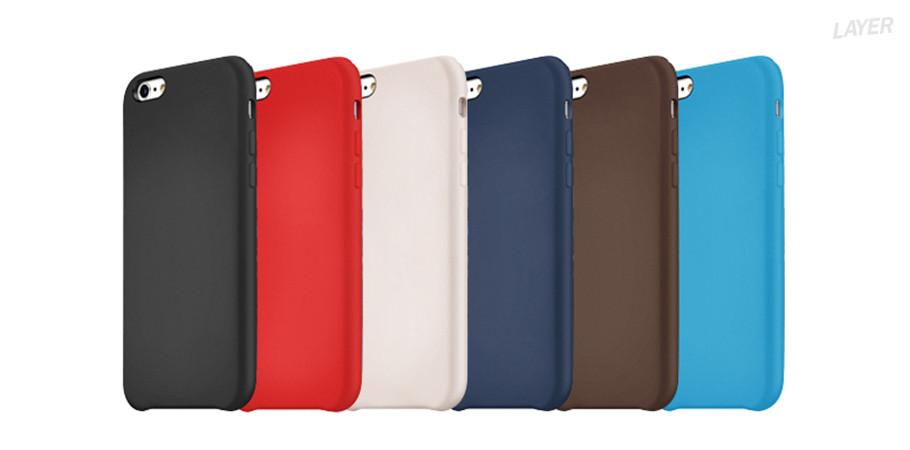 아이폰6 S 플러스 애플 인조가죽 케이스