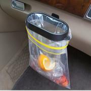 차량용쓰레기홀더 차량용봉투걸이 차량용휴지통 자동차실내휴지통 자동차분리수거함