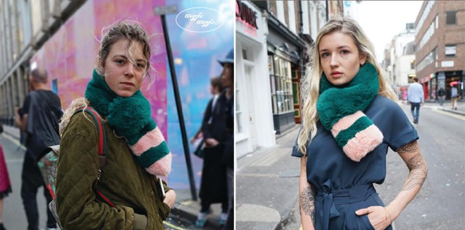 [KT&G 상상마당 디자인스퀘어] [위글위글 에코퍼 목도리] Eco Fur Scarf (S)