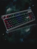 맥스틸 TRON G500K FULL 알류미늄 RGB 기계식 키보드