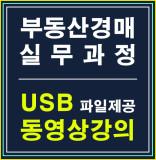 부동산경매 실무과정 (부동산권리분석 및 명도소송실무) USB강의 평생수강반 / 랜드미