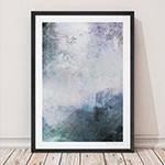 유럽산 우드프레임 포스터 원목액자 - Abstract no.03