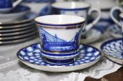 (예카공구) 18. 샹테페테부르크의다리 (찻잔+소서+디저트접시) 로모노소프 임페리얼 포세린 예쁜그릇