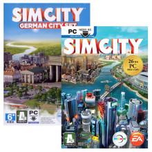 PC 심시티 원본+독일 도시셋트 패키지 / 문자발송