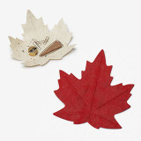 Flexible한지 단풍잎 바스켓