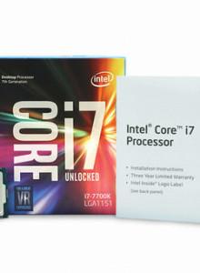[인텔] 코어i7-7세대 7700K (카비레이크) (정품) (쿨러미포함)
