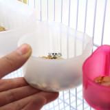 다용도 걸이형 반달 식기 중 (중/지름7.5x높이4.7cm) - 반투명