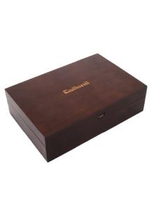 콜로닐 (Collonil) 클래식 브라운 원목 박스 (콜로닐 코리아 정식, 덕스왁스 500ml 용기는 들어가지 않습니다.)
