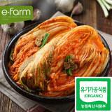 [이팜] [예약상품 D-2] 유기농 포기김치5kg (담채원)