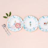 [KT&G 상상마당 디자인스퀘어] Alice_Plate set (4pcs) / 플레이트 세트