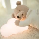 팜라이팅 구름 수유등 아기수면등 (LED/터치식/충전식)