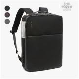 타푸 가죽 오피스백팩 대학생 노트북 가방 여행 캐리어결합 백팩