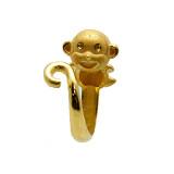 [국제금거래소] 3.75g 스마일 원숭이 돌반지
