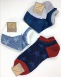 [ 재입고!!]일본 수입 양말 남성 별무늬 발목양말 Tabio (17' 봄 신상품 )