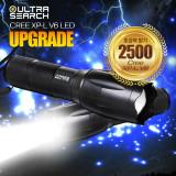 울트라서치2 2500 초고휘도 LED 후레쉬 랜턴 정품 Cree XP-L V6 LED 자전거라이트 손전등