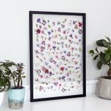 유럽산 우드프레임 투명액자 CLEAR ART - Tiny flowers #01