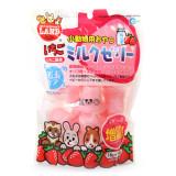마루칸 토끼/햄스터/기니피그/친칠라/다람쥐/페릿간식 헤어볼예방 딸기우유젤리 (16g x 14개입)