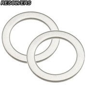 [RESOLVERS] Stainless Steel Pedal Washer (Pair) / 스테인리스 페달 와셔 (1쌍)