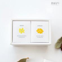 [꽃을담다] 미니꽃차 2종세트 (선택가능)