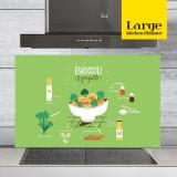 주방아트보드 키친플래너 / 브로콜리 그린 / Large