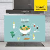 주방아트보드 키친플래너 / 브로콜리 스카이블루 / Small