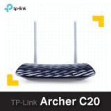 ----- 당일발송 ---- 티피링크 AC750 Archer C20 / 유무선공유기/듀얼밴드 와이파이 (기본랜선포함/무상 2년 AS)