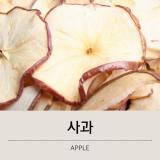 스넥박스 올내추럴 건조과일 말린과일 사과 100g 샘플