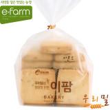 [이팜] [예약상품 D-2]아몬드 사각 쿠키(우리밀)180g(빵 주문시 전체 상품 같이 배송)