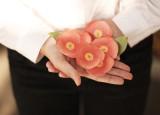 [KT&G 상상마당 디자인스퀘어] 스티키리프 동백(화이트, 핑크 / S,M,L)
