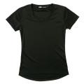 [GRIPE] Women Round T-Shirt _ Black / 그라이프 여성용 라운드 티셔츠 _ 블랙