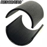 [RESOLVERS] Handlebar Shim (22.2 to 25.4) Black / 리졸버 핸들바 어댑터 (22.2-25.4mm) 블랙 / 핸들바 심