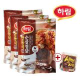 하림 안동식 순살 찜닭 300g 3봉+생면 200g(증정)