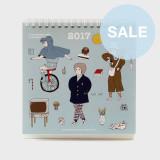 (SALE) CBB calendar 2017