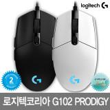 로지텍코리아 G102 PRODIGY 마우스 블랙/화이트 출시