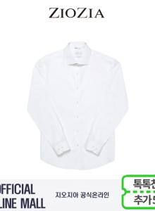 (지오지아/ZIOZIA) 세미와이드 포인트 드레스 스판셔츠(ABX5WD1105/화이트)