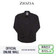 (지오지아/ZIOZIA) 기본카라 포인트 드레스 스판셔츠(ABX5WD1103/블랙)
