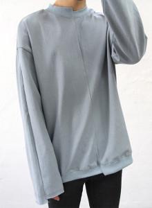 언발란스 롱슬리브 티셔츠 4color
