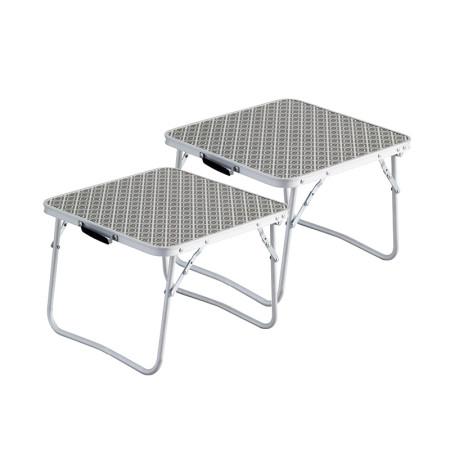 아웃웰 사이드테이블 2개1세트 캠핑테이블 로우테이블 410038