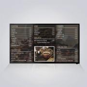 카페메뉴판 게시판 벽걸이메뉴판