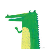 [Millim]_Zoo_Crocodile_canvas,frame