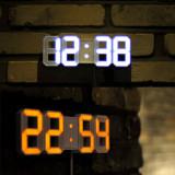무아스 LED벽시계 오토듀얼컬러