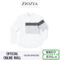 (지오지아/ZIOZIA) 컬러블럭 디자인 포인트 캐주얼 차이나셔츠(ADW3WC1103/화이트)
