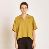 [TheKstory] Slip down blouse_YELLOW