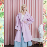 Signature Bold Puff Trench_PINK
