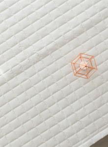 워싱광목 사각누빔 패드