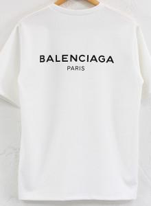 발렌시아가 로고 남여공용 티셔츠 2color