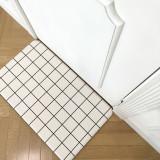 헤링본 PVC 양면 주방매트 소 75cm